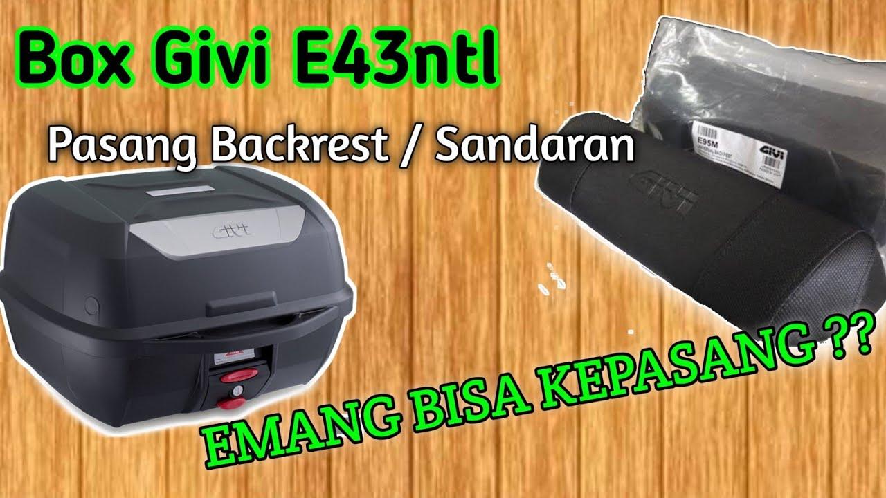 Tutorial Pasang Backrest / Sandaran ke Box Givi E43ntl