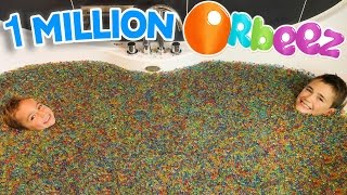 1 MILLION D'ORBEEZ dans un BAIN GÉANT ! - ORBEEZ BATH PARTY SPA