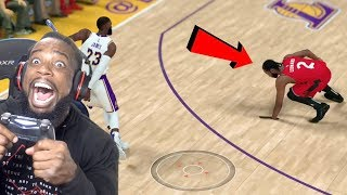 LEBRON BROKE KAWHI'S ANKLES! Lakers vs Raptors NBA 2K19 MyCareer Ep 100!