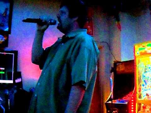 "Me singing ""Save Yourself"" by Stabbing Westward for karaoke - 3/17/2012."