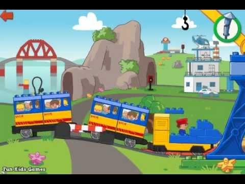 Lego Duplo Train - Lego Duplo Games - YouTube