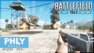 BATTLEFIELD 1943 Gameplay | OH the NOSTALGIA