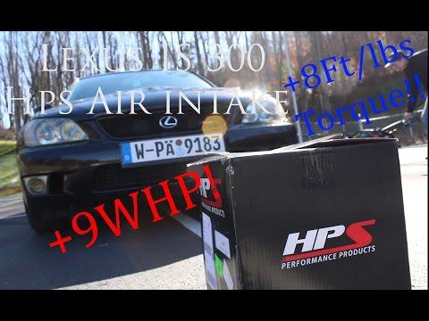 K/&N Filter for 01-05 Lexus GS300 HPS SRI Short Ram Air Intake Red
