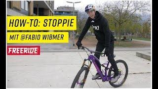 MTB-Fahrtechnik: der Stoppie mit Fabio Wibmer
