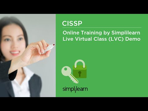 CISSP Online Training By Simplilearn | Live Virtual Class