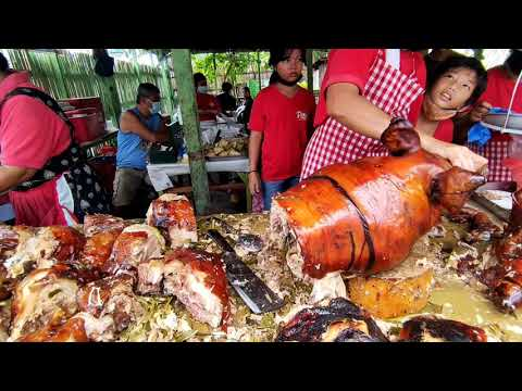 The Lechon Capital of Cebu is Talisay?   Former Mila's Lechon 1950's and now Ruthy's Lechon