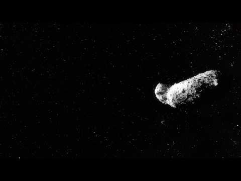 Artist's impression of asteroid (25143) Itokawa | ESO