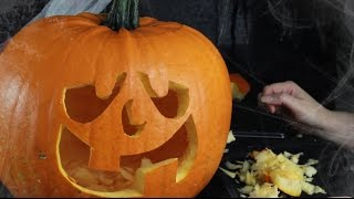 How to Carve the Perfect Pumpkin Made Easy Using Stencils