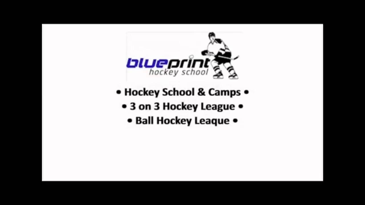 Blueprint hockey school ad youtube blueprint hockey school ad malvernweather Image collections