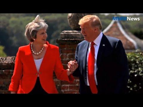 Global news | Trump says Brexit deal hampers U.S.-UK trade