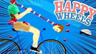 ルフィも驚くゴムゴムのバズーカ - Happy Wheels 実況プレイ - …