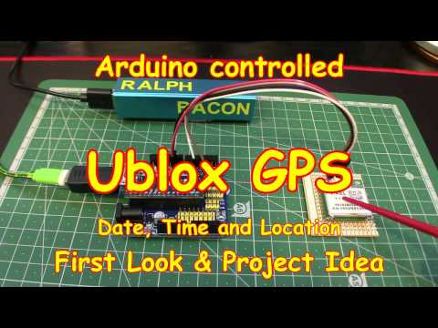 #70 GPS Ublox - First look! Possible RTC replacement?