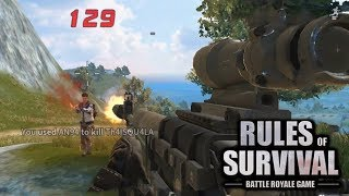 CUSTOM GAMES ON PC AND MOBILE! Rules of Survival Gameplay