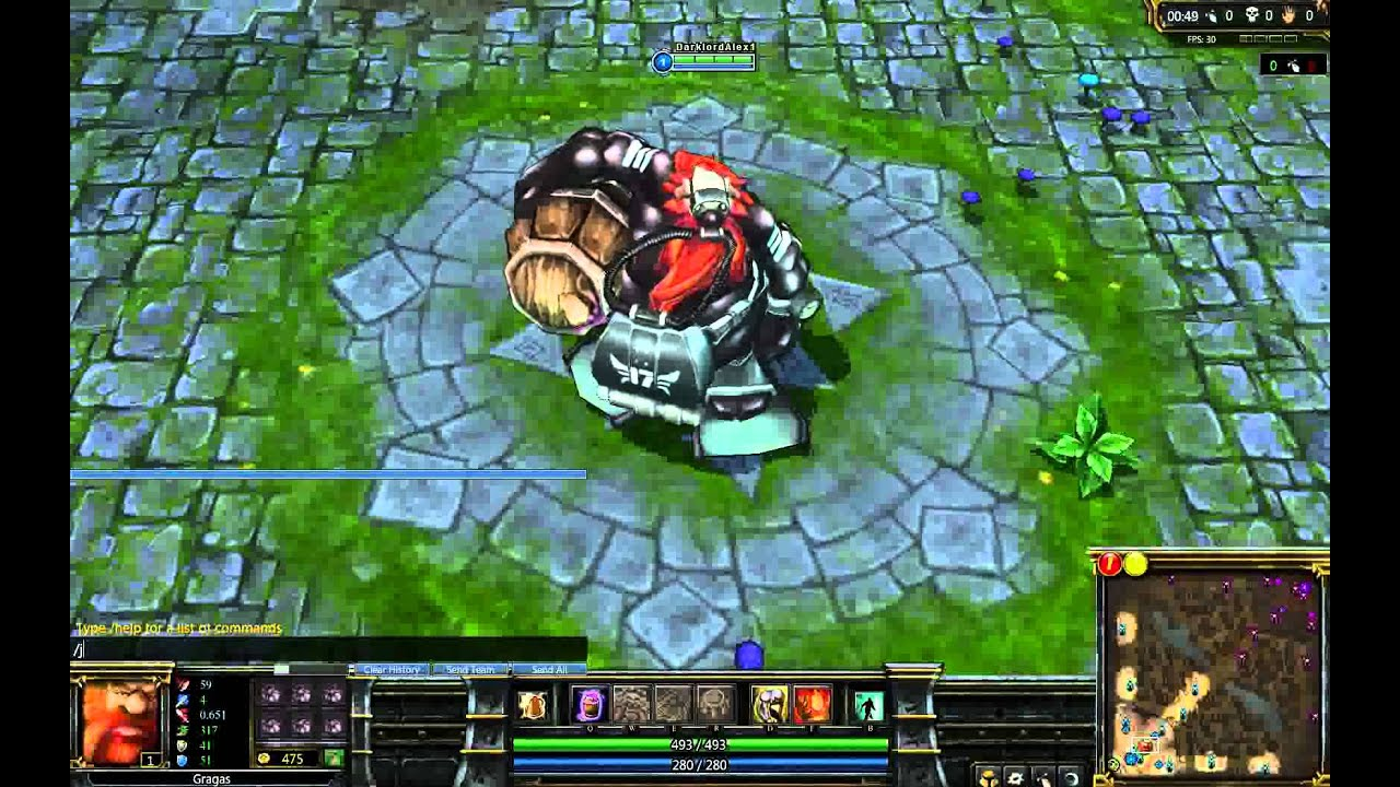 league of legends scuba gragas spotlight youtube