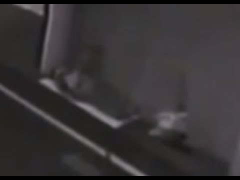The Moment The Soul Leaves The Body Of This Homeless Man. Caught On CCTV