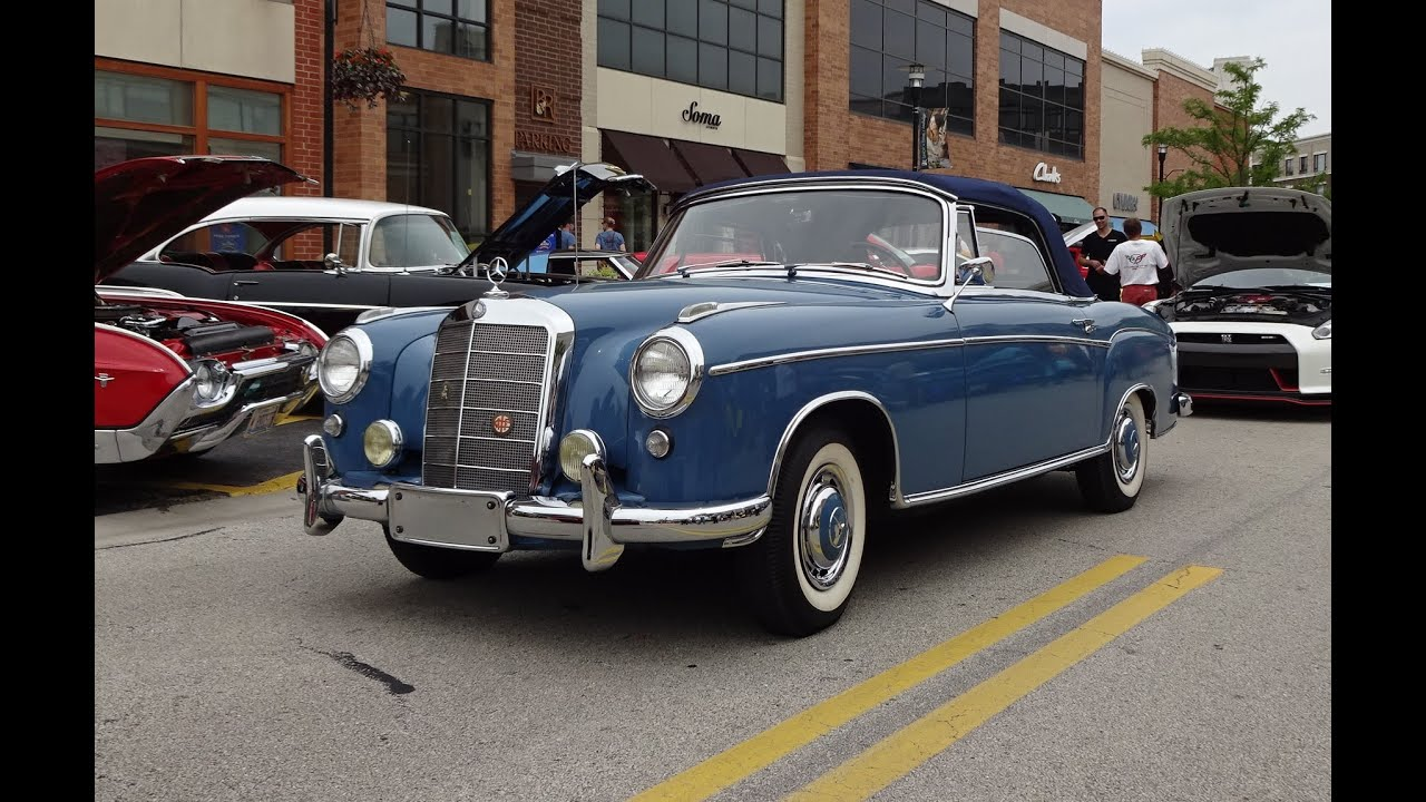 1957 mercedes benz 220s cabriolet convertible in blue for 1957 mercedes benz 220s