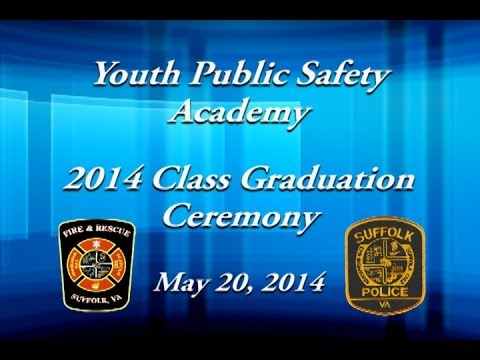 Youth Public Safety Academy 2014 Class Graduation Ceremony