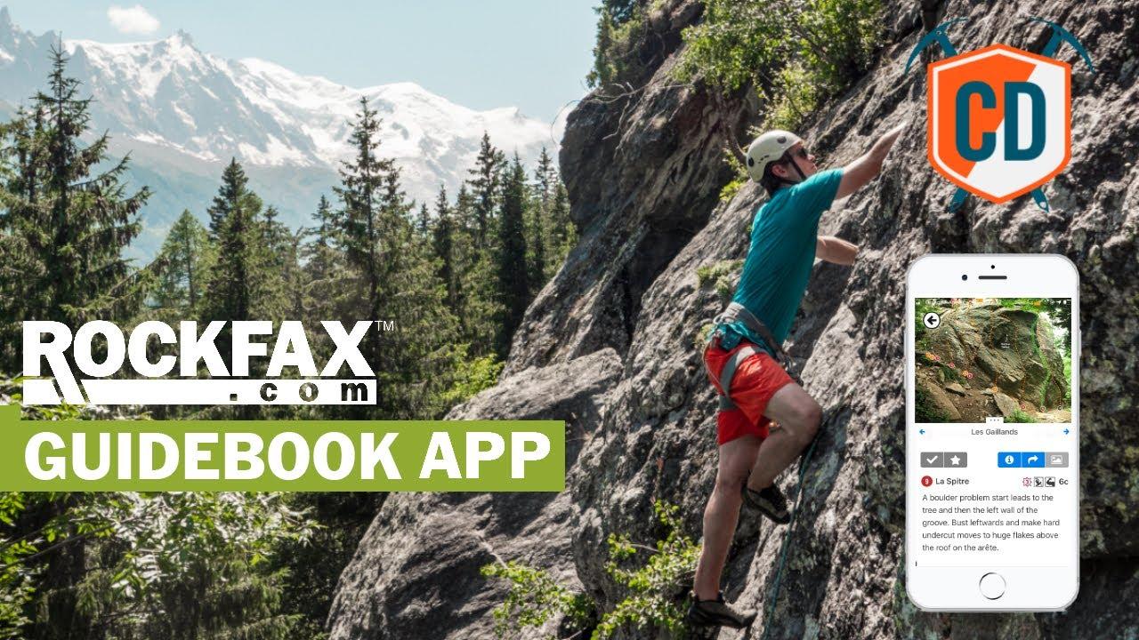 Better Than A Guidebook? Rockfax Climbing App TEST    Climbing Daily Ep.1868