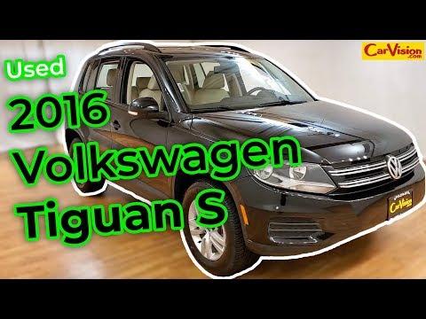 2016 Volkswagen Tiguan S MEDIA SCREEN + REAR CAMERA 4Motion | Car Vision