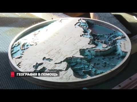 Карты моря из дерева создают во Владивостоке