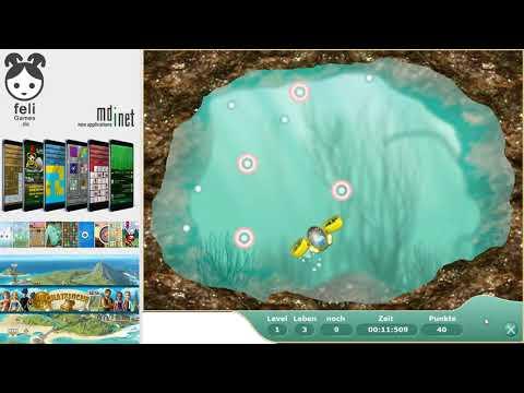 Submarine - Dive for treasures! The treasure hunt!
