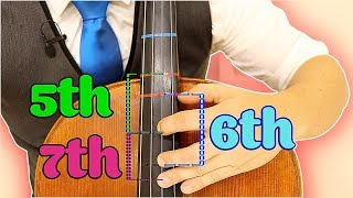 How to Play 5th 6th 7th Position on Cello