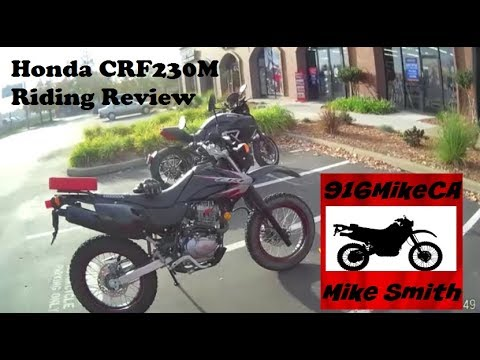 Honda CRF230M Riding Review