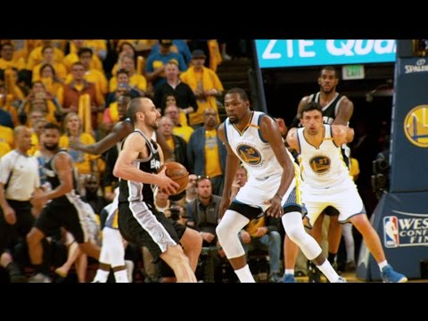 All-Access: Spurs-Warriors Western Conference Finals Game 1
