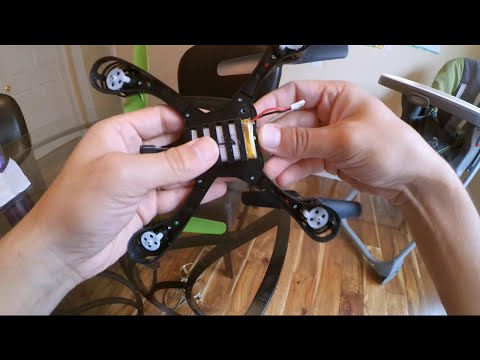 "Sky Viper S670 ""Stunt Drone"" - Battery modification - September 2015"