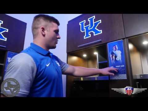University of Kentucky Locker Room