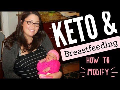 Ketogenic lifestyle for nursing mothers