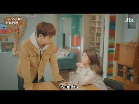 He can't handle the cuteness😂😂😍😍😍😍😍.....| laughter in Waikiki EP 8 English sub|