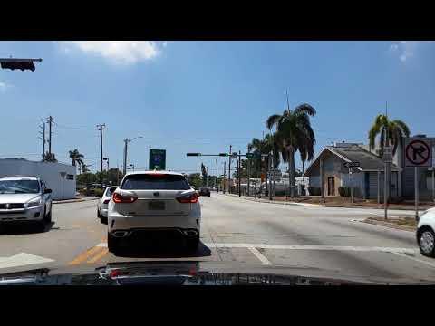 Miami, FL. Driving from North Miami to Little Havana April 20, 2018