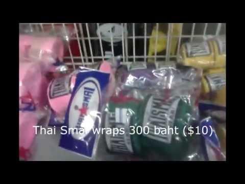 Muay Thai Equipment Chiang Mai - My Review Of The Sportland Shop