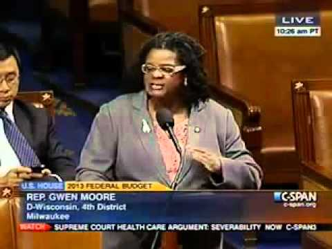 Gwen Moore Introduces Violence Against Women Act