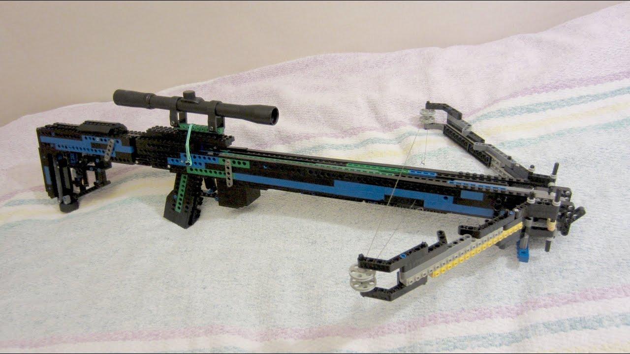 Lego Crossbow [+instruction] - YouTube