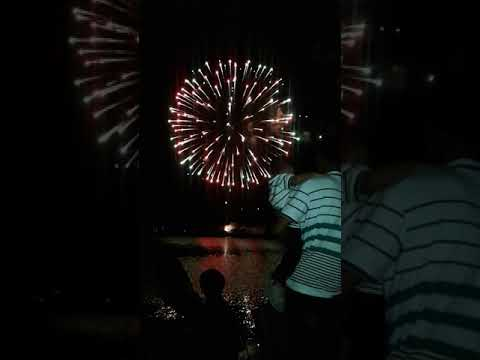 Fire works in grand cayman