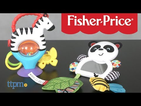 Activity Zebra And On-the-Go Panda From Fisher-Price