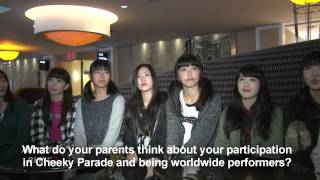 Agressive pop superstars Cheeky Parade hit the United States recent...