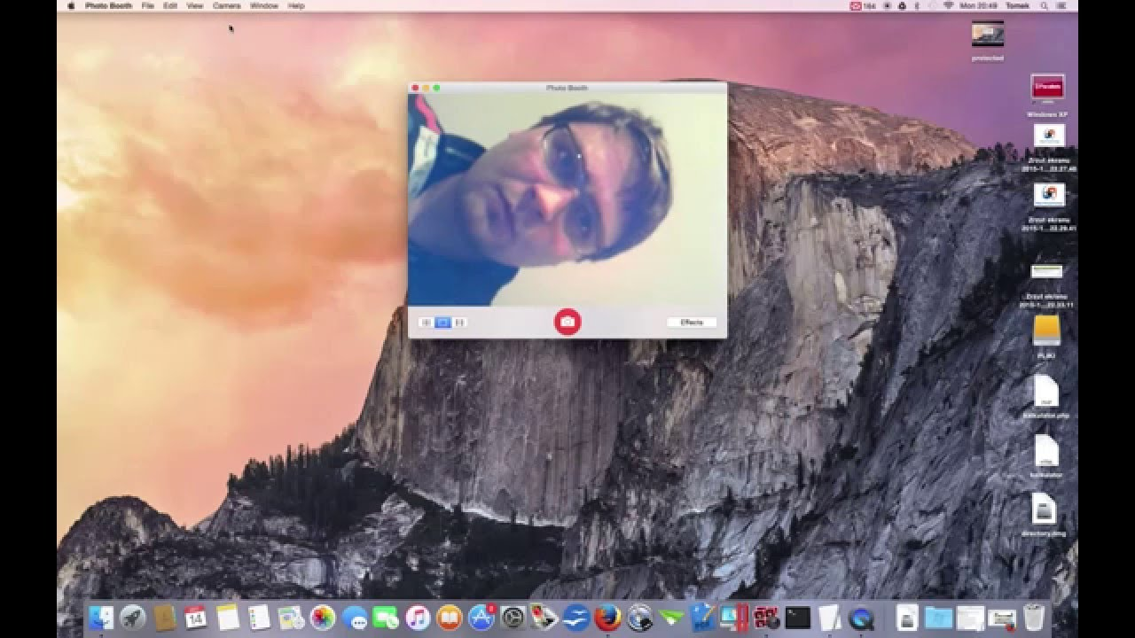Endoscope camera on mac