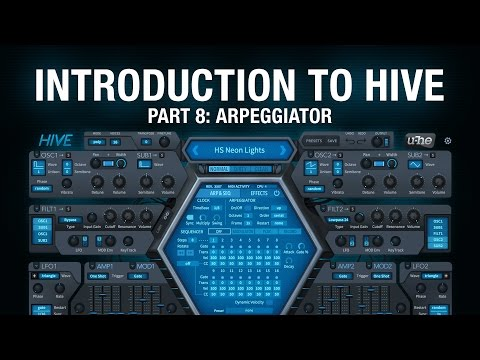 Introduction to Hive - 8 Arpeggiator