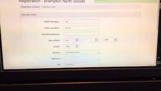 Video Brampton North Soccer Online Registration Tutorial download MP3, 3GP, MP4, WEBM, AVI, FLV Januari 2018