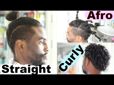 From Curly To Afro To Straight Hair - Men Hairstyles | Josiphia Rizado
