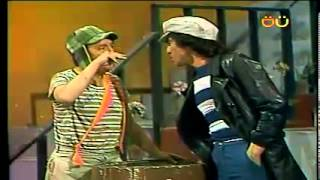 CHESPIRITO 1982- El Chavo del Ocho- Un ratero en la vecindad- parte 6 HD