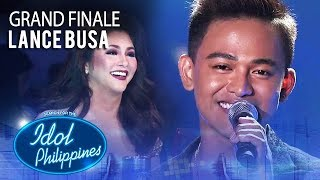 "Lance Busa sings ""Kapit Lang"" 