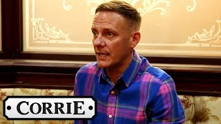 Coronation Street - Antony Cotton Talks About Sean