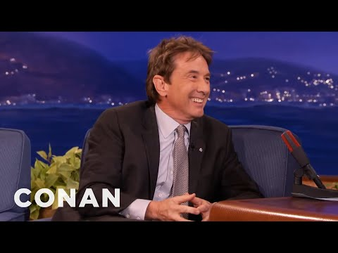 Martin Short On George Clooney's Wedding  - CONAN on TBS