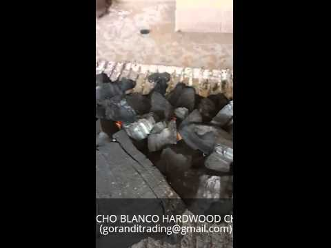 QUEBRACHO BLANCO HARDWOOD CHARCOAL BURNING PROCESS