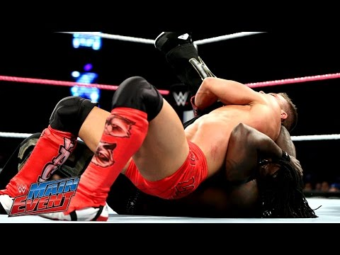 R-Truth vs. Tyson Kidd: WWE Main Event, Oct. 21, 2014