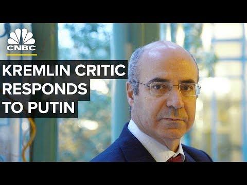 Kremlin Critic Bill Browder Responds To Putin's Accusations